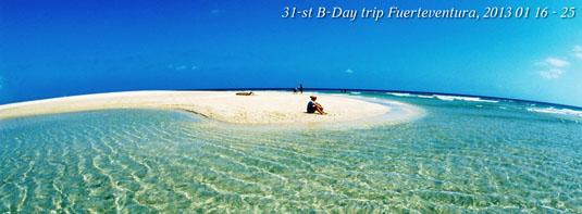 B-Day trip