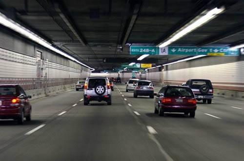 Įspūdingas požeminis Bostono tunelis