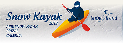 Snow Kayak 2013